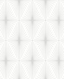 Papier peint Lutèce Eclipse Starlight Gris fond blanc FD23823