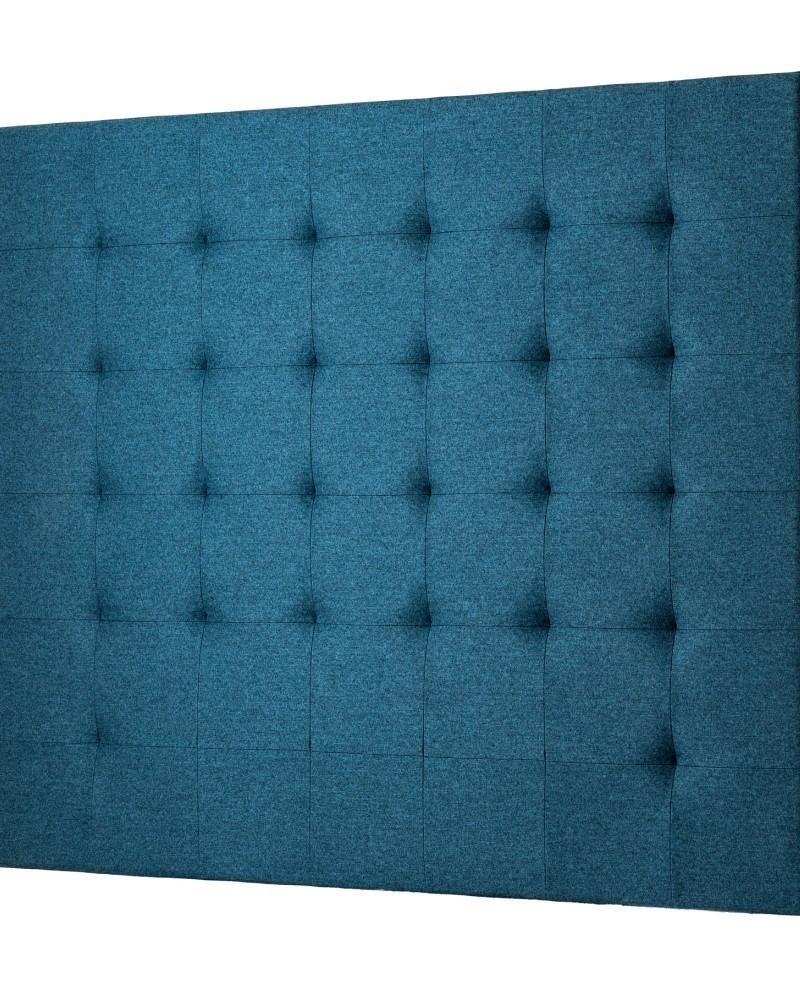 t te de lit tissu thevenon rive gauche bleu canard 2036917