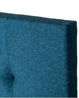 Tête de lit tissu Thevenon Rive gauche Bleu canard 2036917