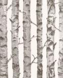 Papier peint Esta Home Greenhouse Troncs de boulot gris 138889