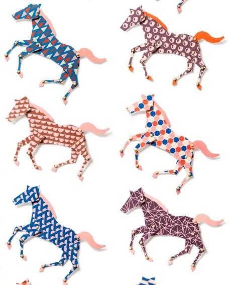 Papier peint Studio Ditte Horses
