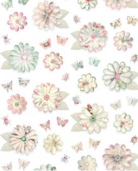 Papier peint Studio Ditte Vintage Flowers