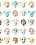 Papier peint Studio Ditte Wild animals Sweet