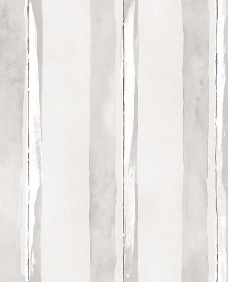 Papier peint Lutèce Jeux de Rayures 2 Rayure Gris G67589