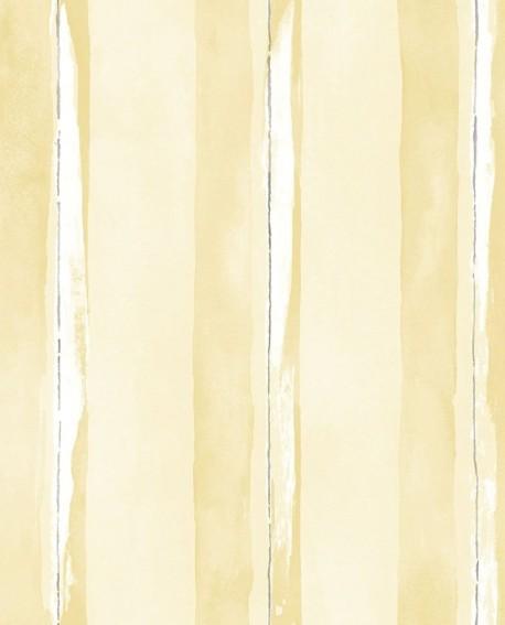 Papier peint Lutèce Jeux de Rayures 2 Rayure Jaune G67593