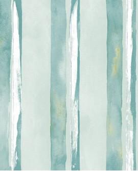 Papier peint Lutèce Jeux de Rayures 2 Rayure Vert G67592