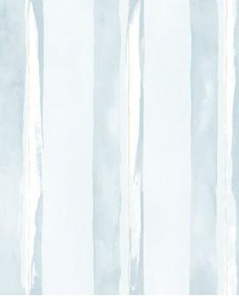 Papier peint Lutèce Jeux de Rayures 2 Rayure Bleu clair G67590