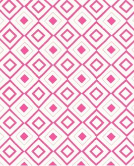 Papier peint Esta Home Carré ethnique Fuchsia 138862