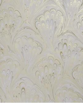 Papier peint Clarke & Clarke Pavone Ivory Gold W0095/03