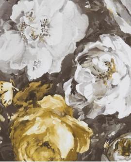 Papier peint Clarke & Clarke Floretta Antique Charcoal W0090/01
