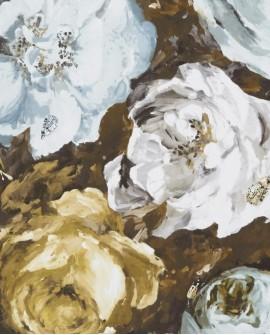 Papier peint Clarke & Clarke Floretta Mineral Charcoal W0090/04