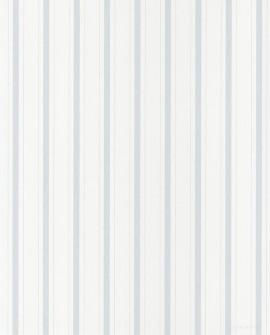 Papier peint Casadeco Toile de Jouy Fontainebleau Rayure Bleu FONT81576103