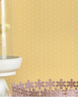 Papier peint Casadeco My Little World Pois Jaune MLW29792536