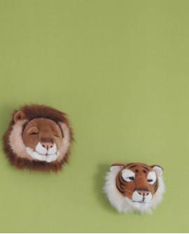 Papier peint Casadeco Alice & Paul Jungle uni vert  AEP16087105