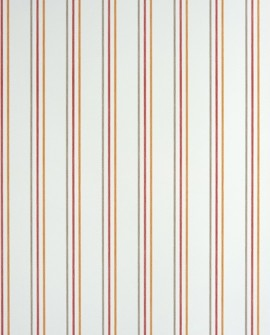 Papier peint Casadeco Alice & Paul Rayure rouge/orange  AEP25568508