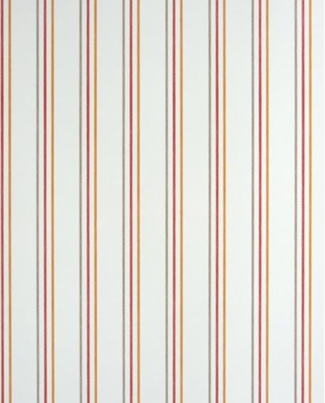 Papier peint Casadeco Alice & Paul Rayure rouge/orange  AEP25568508