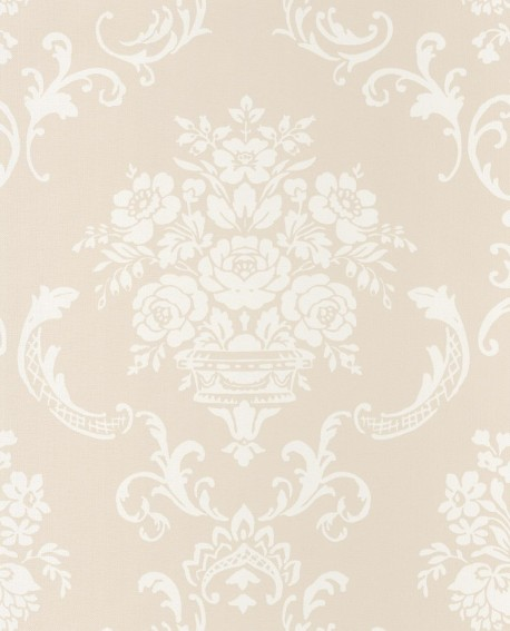 Papier peint Caselio Ashley Arabesques Beige 69340010