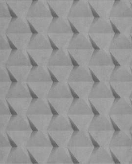 Papier peint Caselio Tonic Carrés Géométriques Gris 69509015