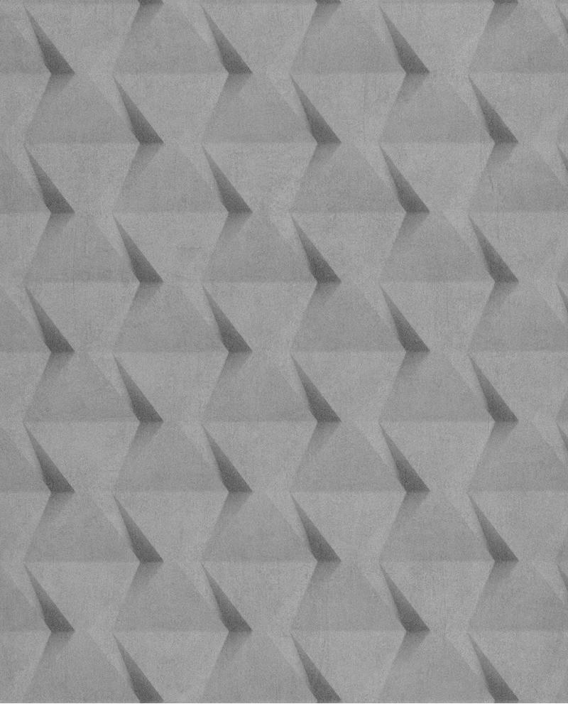 Papier Peint Caselio Tonic Carres Geometriques Gris 69509015