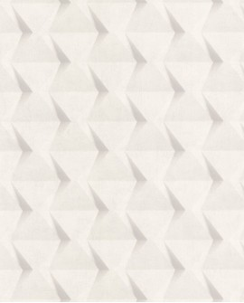 Papier peint Caselio Tonic Carrés Géométriques Blanc cassé 69500101