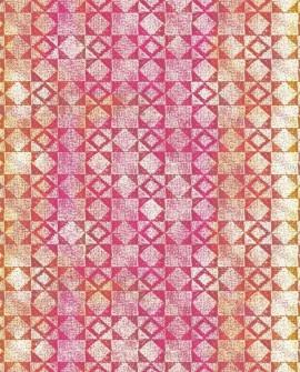Papier peint Lutèce Bensimon Mexicain Fuchsia 51172903
