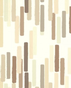 Papier peint Lutèce Bensimon Color Stick Naturel 51172607