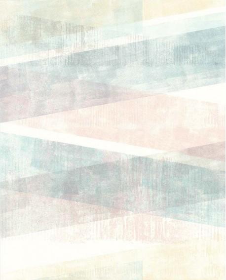 papier peint lutece r tro vintage g om trique pastel rose et gris 51174703. Black Bedroom Furniture Sets. Home Design Ideas