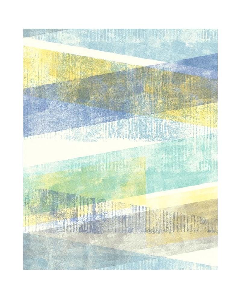 papier peint lutece r tro vintage g om trique pastel bleu et vert 51174701. Black Bedroom Furniture Sets. Home Design Ideas