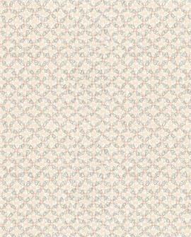 Papier peint Lutece Rétro Vintage Allover Vintage Rose et taupe 51175103