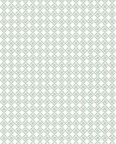 papier peint lutece r tro vintage florale bleu 51175201. Black Bedroom Furniture Sets. Home Design Ideas