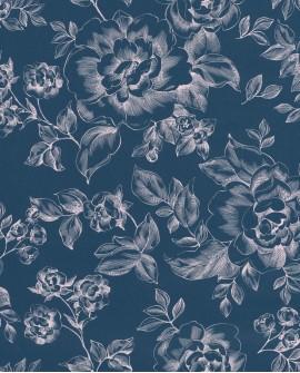 Papier peint Caselio Smile A Fleur de Peau nuit 69846928