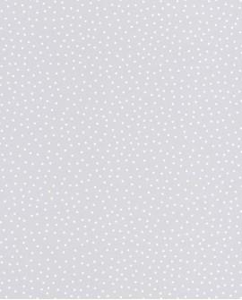 Papier peint Caselio Smile Les petits pois gris clair 69729200