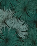 Papier peint Caselio Jungle Feuilles de Palmiers vert 100047818