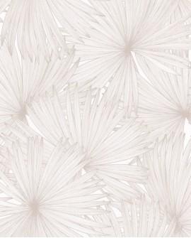 Papier peint Caselio Jungle Feuilles de Palmiers beige 100042129
