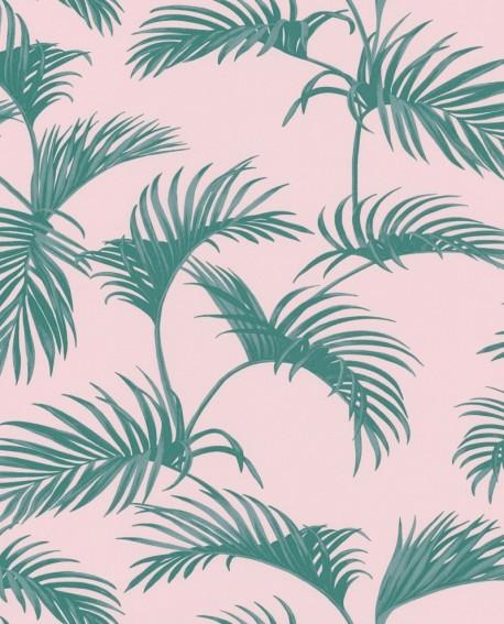 Papier peint Caselio Jungle Feuilles de Palm vert 100037900