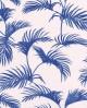 Papier peint Caselio Jungle Feuilles de Palmes Bleu 100036212