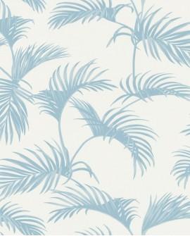 Papier peint Caselio Jungle Bleu clair 100039000