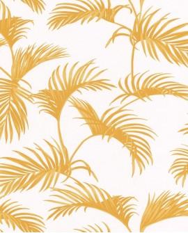 Papier peint Caselio Jungle Palmes Jaune 100033613