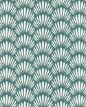 Papier peint Caselio Jungle Palmes stylisées Vert 100057926