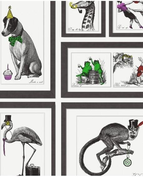 Papier peint Holden Imaginarium Mad Dogs multi 97921