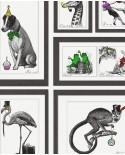 Papier peint anglais Holden Imaginarium Mad Dogs multi 97921