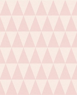 Papier peint Esta Home Little Bandits Triangle Rose 148671