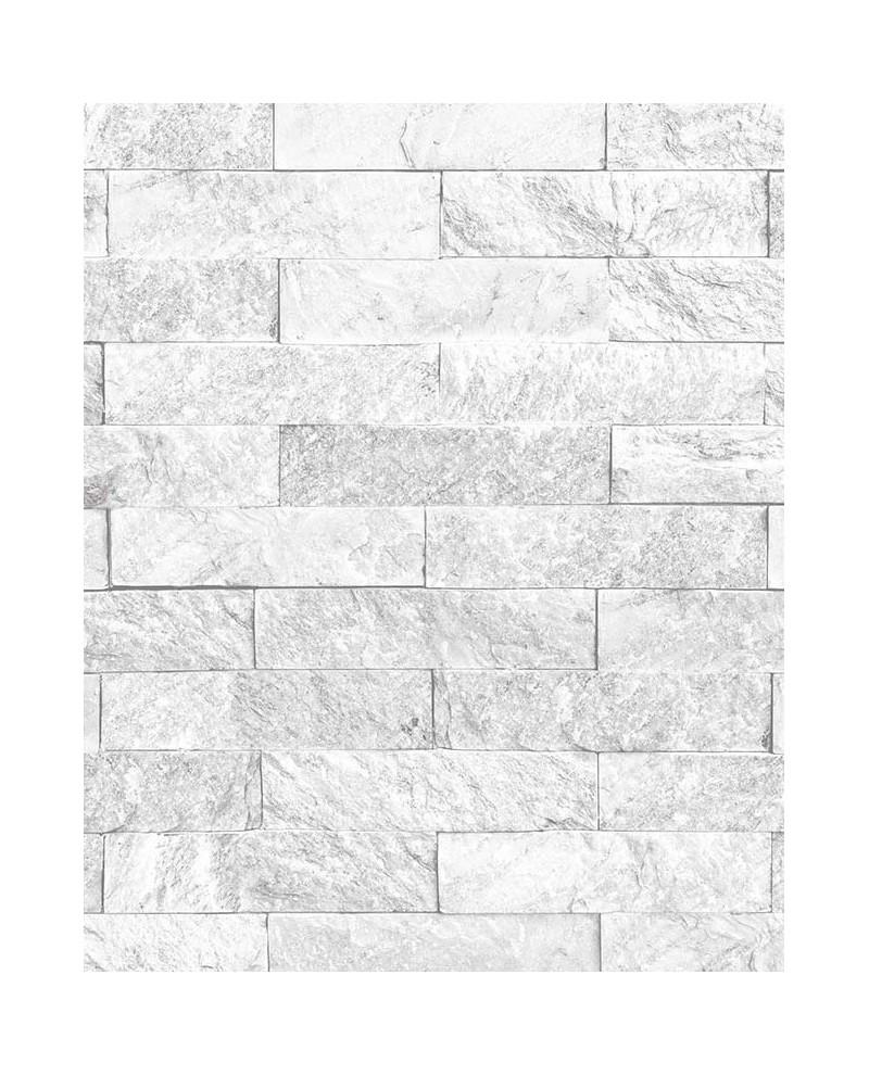 papier peint lut ce style cuisine 3 brique gris clair ck36625. Black Bedroom Furniture Sets. Home Design Ideas