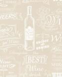 Papier peint Lutèce Style Cuisine 3 Best Wine Beige CK36632