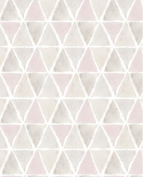Papier Peint Lutece Style Cuisine 3 Allover Triangle Beige Rose Ck36636