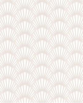 Papier peint Caselio Jungle Palmes stylisées Beige 100051009
