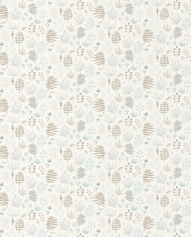 Papier peint Casadeco Happy Dreams All over Jungle Beige HPDM82731209