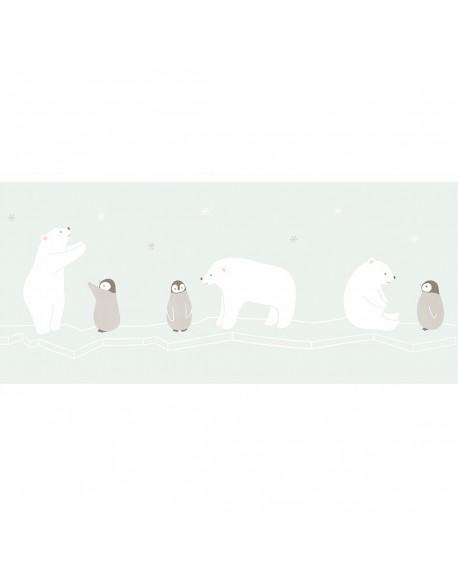 Frise Casadeco Happy Dreams Polar Bear HPDM82866234