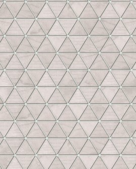 Papier Peint Lutèce Reality 3 Hexatriangle Rose 51182403