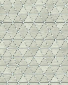 Papier Peint Lutèce Reality 3 Hexatriangle Beige 51182407
